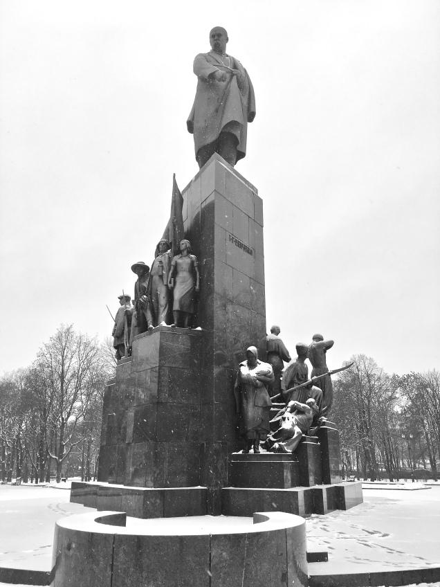 Monument to Taras Shevchenko, Kharkiv